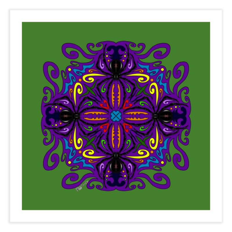 Arachnophobia Home Fine Art Print by Magickal Vision: The Art of Jolie E. Bonnette