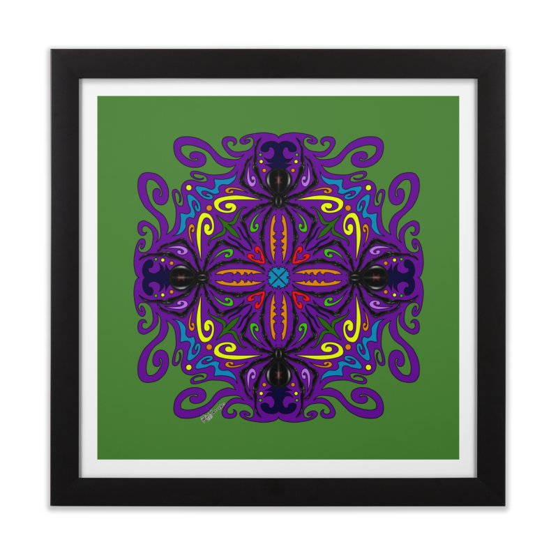Arachnophobia Home Framed Fine Art Print by Magickal Vision: The Art of Jolie E. Bonnette