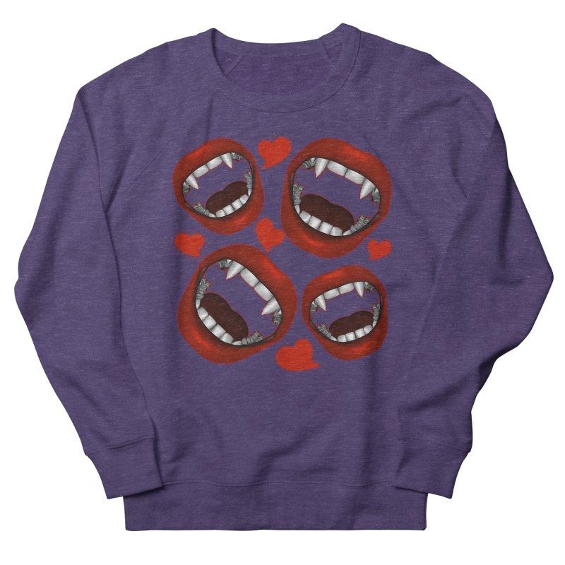 Vampy Love Women's Sweatshirt by Magickal Vision: The Art of Jolie E. Bonnette