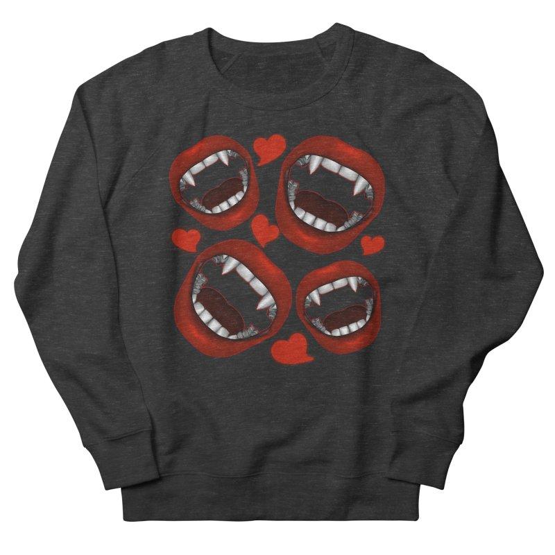 Vampy Love Men's Sweatshirt by Magickal Vision: The Art of Jolie E. Bonnette