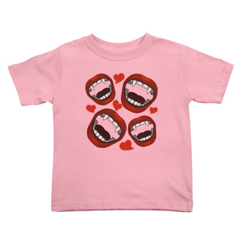 Vampy Love Kids Toddler T-Shirt by Magickal Vision: The Art of Jolie E. Bonnette