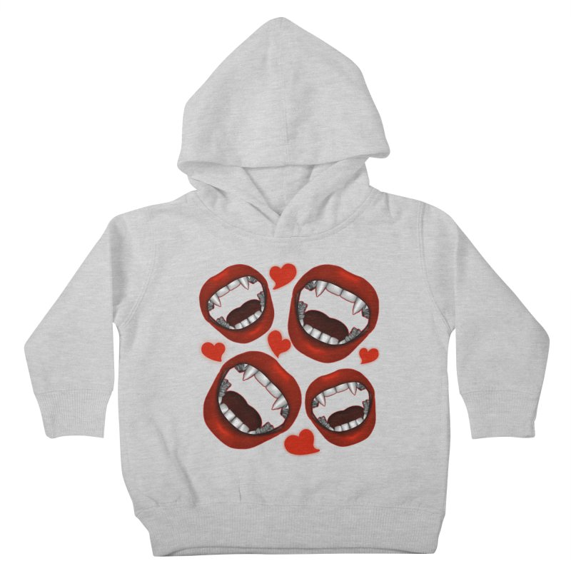 Vampy Love Kids Toddler Pullover Hoody by Magickal Vision: The Art of Jolie E. Bonnette