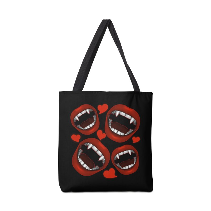 Vampy Love Accessories Bag by Magickal Vision: The Art of Jolie E. Bonnette