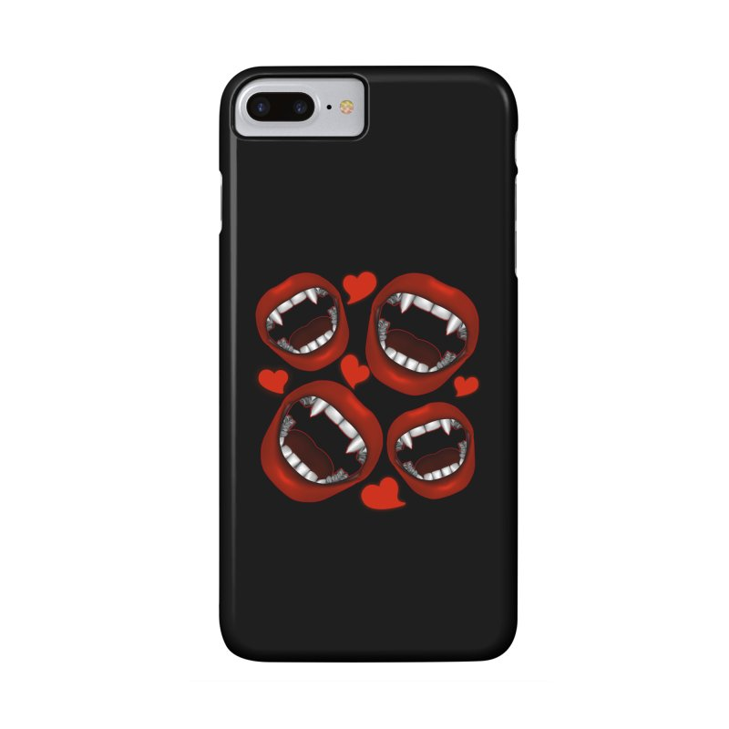 Vampy Love Accessories Phone Case by Magickal Vision: The Art of Jolie E. Bonnette