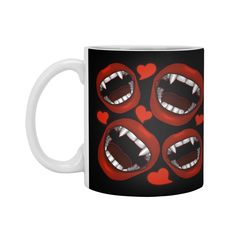 Vampy Love Accessories Standard Mug by Magickal Vision: The Art of Jolie E. Bonnette