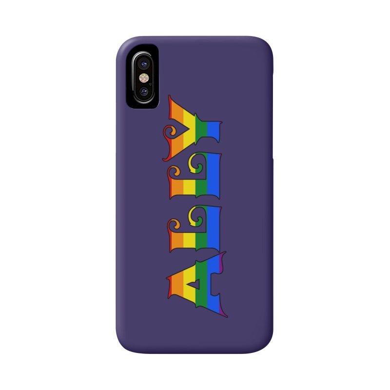LGBTQ Ally Accessories Phone Case by Magickal Vision: The Art of Jolie E. Bonnette