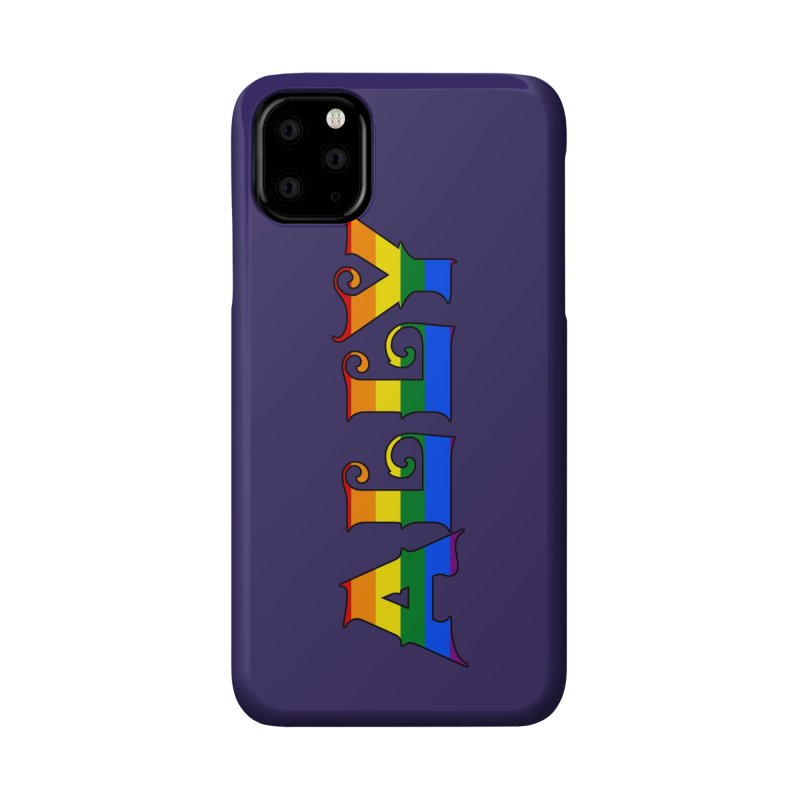 LGBTQ Ally Accessories Phone Case by Magickal Vision: The Art of Jolie E. Bonnette