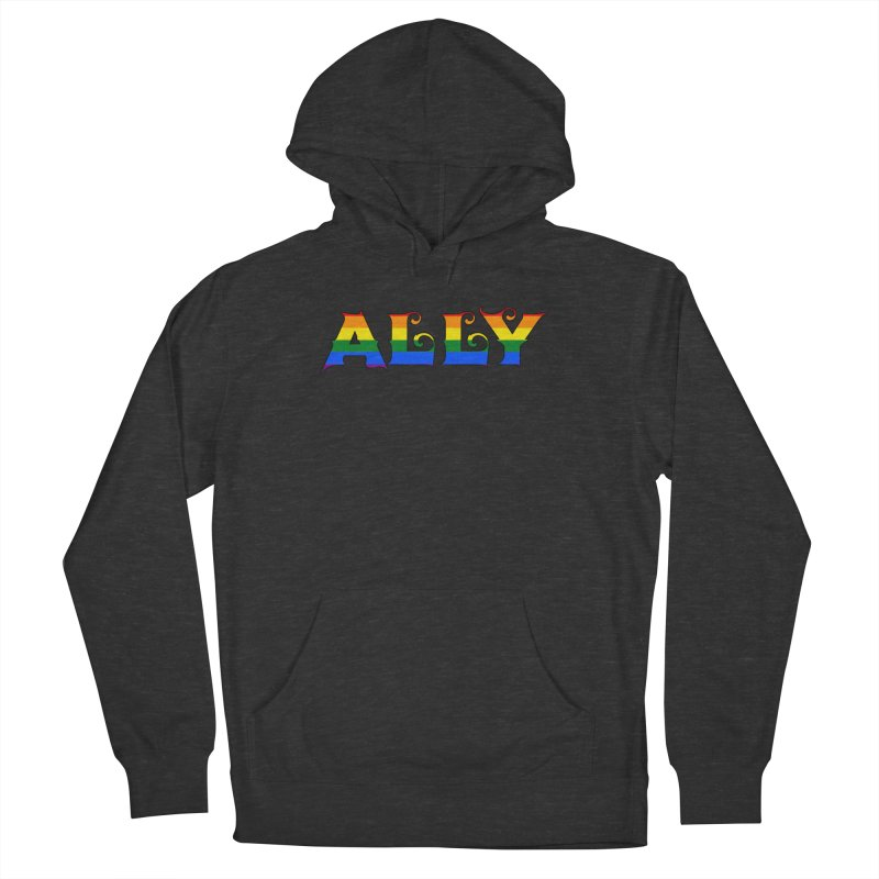 LGBTQ Ally Women's Pullover Hoody by Magickal Vision: The Art of Jolie E. Bonnette