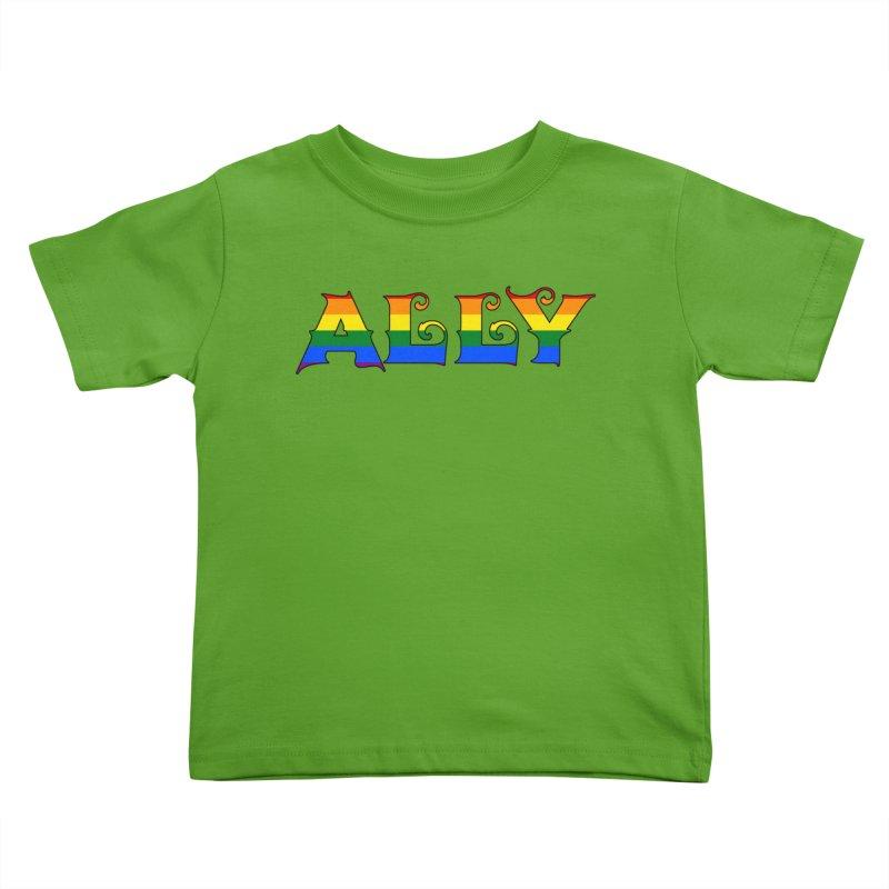 LGBTQ Ally Kids Toddler T-Shirt by Magickal Vision: The Art of Jolie E. Bonnette