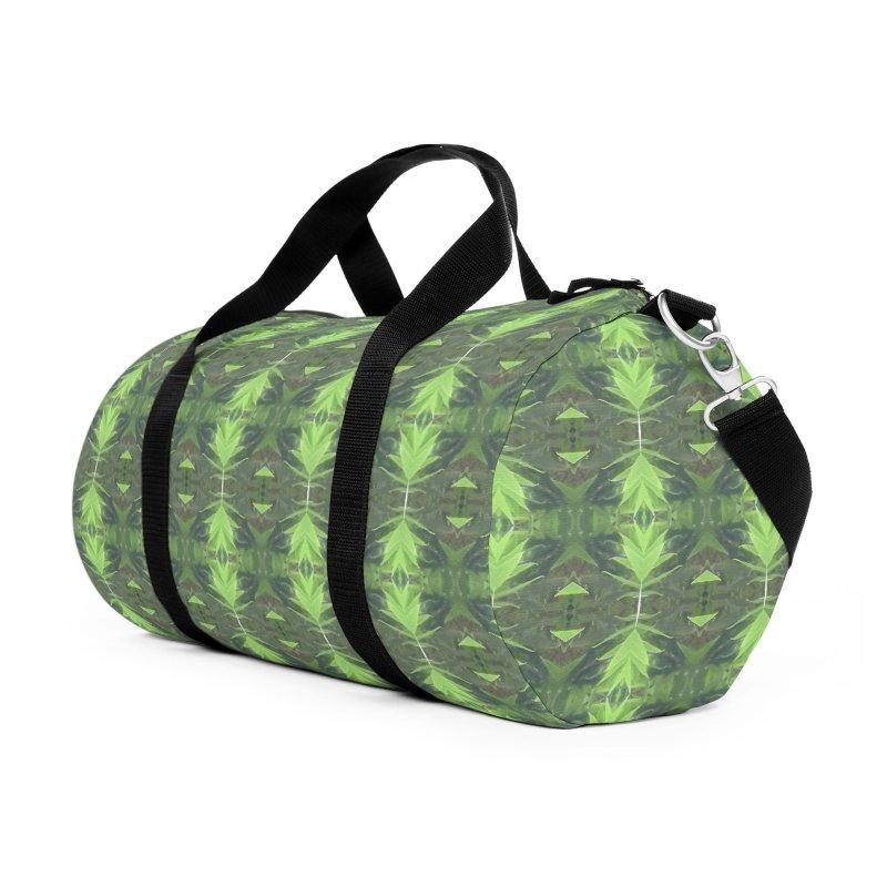Bamboozled Accessories Duffel Bag Bag by Magickal Vision: The Art of Jolie E. Bonnette