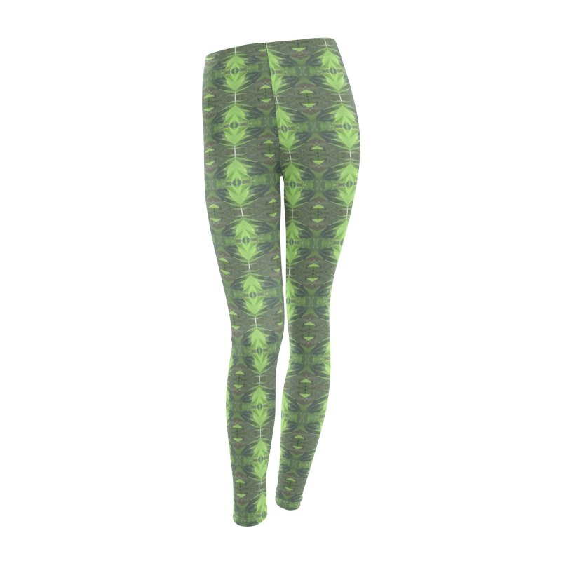 Bamboozled Women's Leggings Bottoms by Magickal Vision: The Art of Jolie E. Bonnette