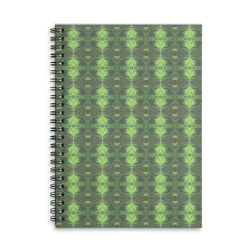 Bamboozled Accessories Lined Spiral Notebook by Magickal Vision: The Art of Jolie E. Bonnette