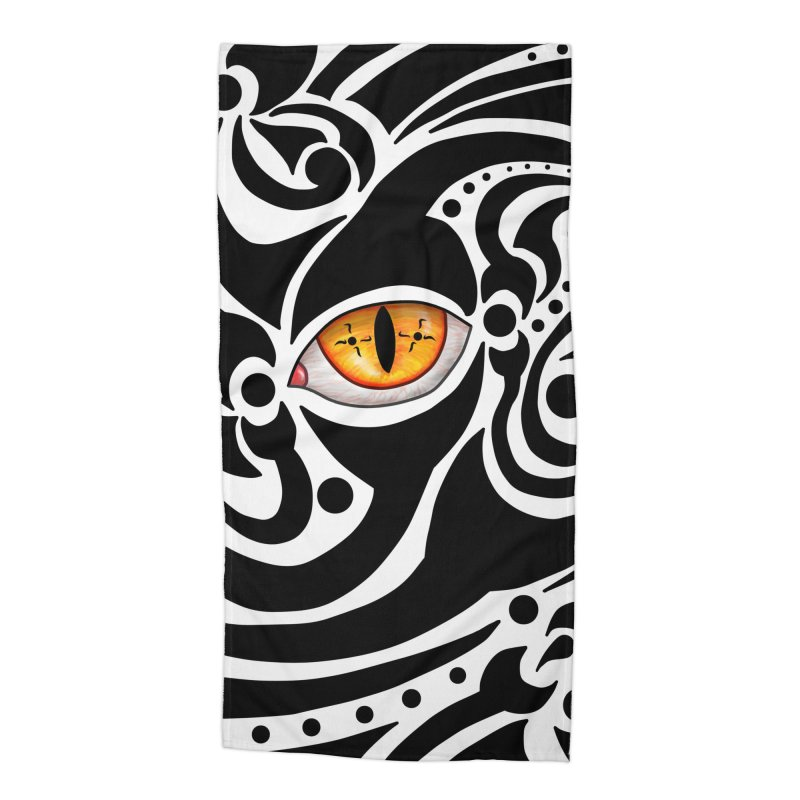 Drakkarhys Accessories Beach Towel by Magickal Vision: The Art of Jolie E. Bonnette