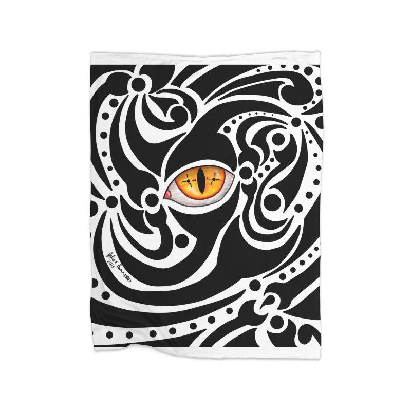 Drakkarhys Home Fleece Blanket Blanket by Magickal Vision: The Art of Jolie E. Bonnette