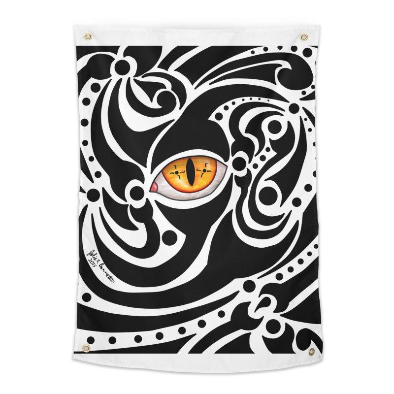 Drakkarhys Home Tapestry by Magickal Vision: The Art of Jolie E. Bonnette