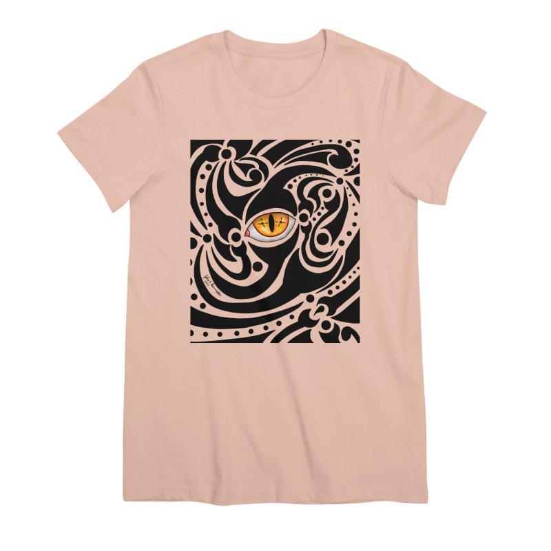 Drakkarhys Women's Premium T-Shirt by Magickal Vision: The Art of Jolie E. Bonnette