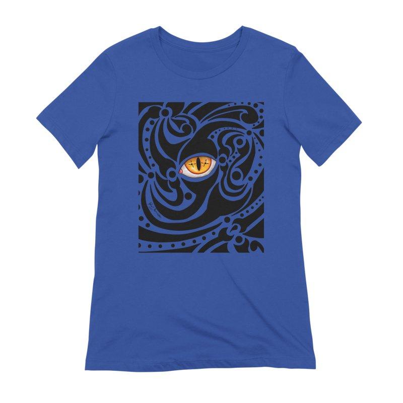 Drakkarhys Women's Extra Soft T-Shirt by Magickal Vision: The Art of Jolie E. Bonnette