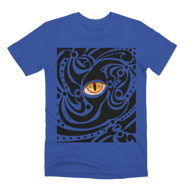 Drakkarhys Men's Premium T-Shirt by Magickal Vision: The Art of Jolie E. Bonnette