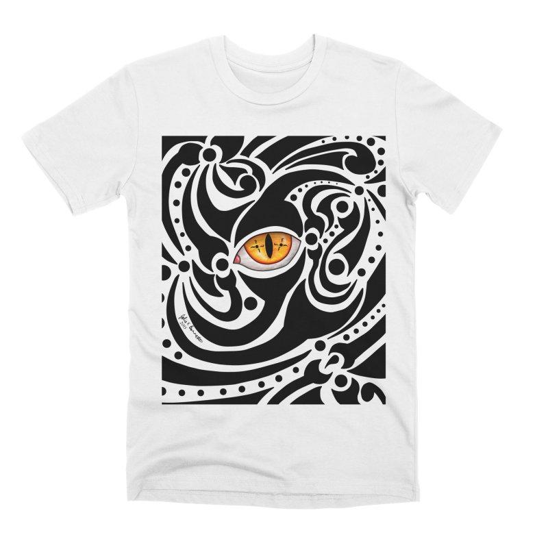 Drakkarhys Men's T-Shirt by Magickal Vision: The Art of Jolie E. Bonnette