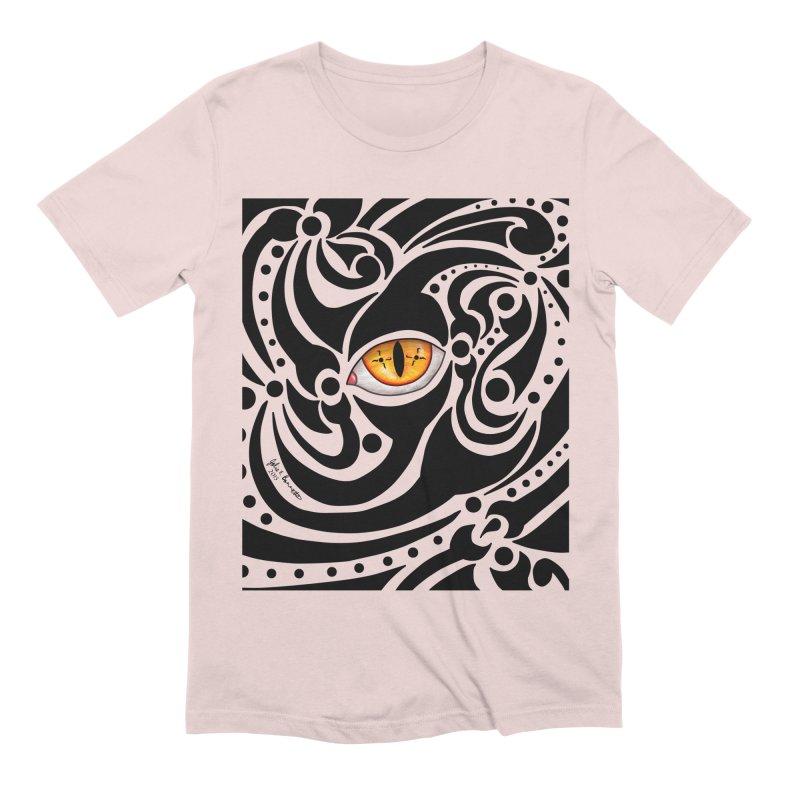 Drakkarhys Men's Extra Soft T-Shirt by Magickal Vision: The Art of Jolie E. Bonnette