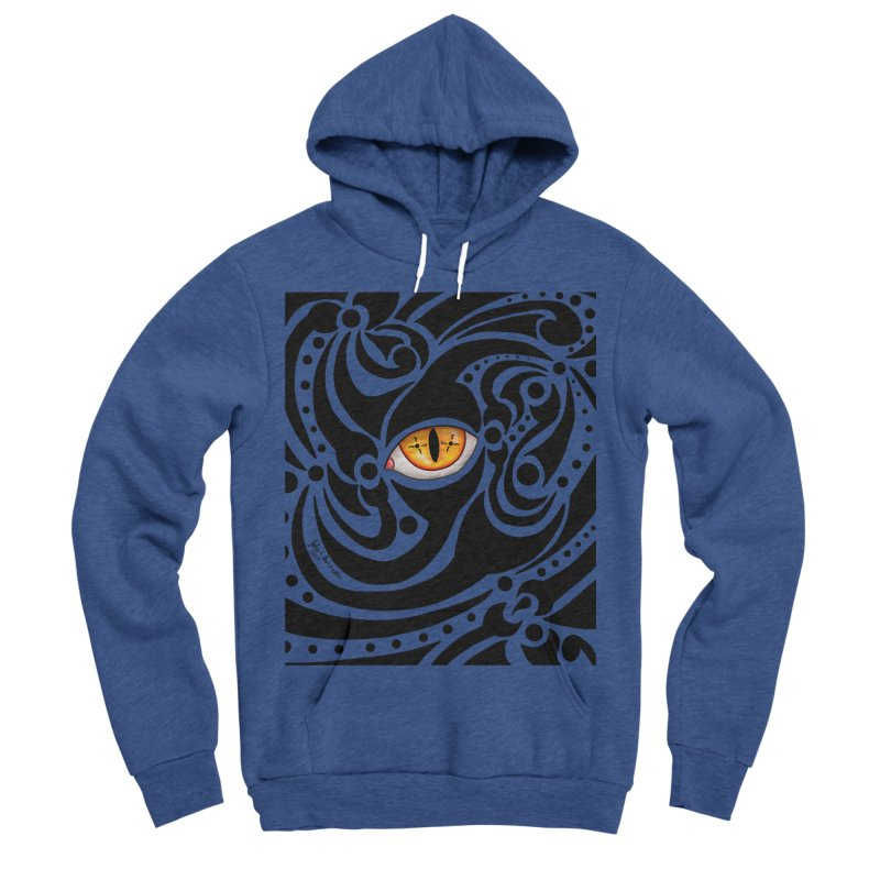 Drakkarhys Men's Sponge Fleece Pullover Hoody by Magickal Vision: The Art of Jolie E. Bonnette
