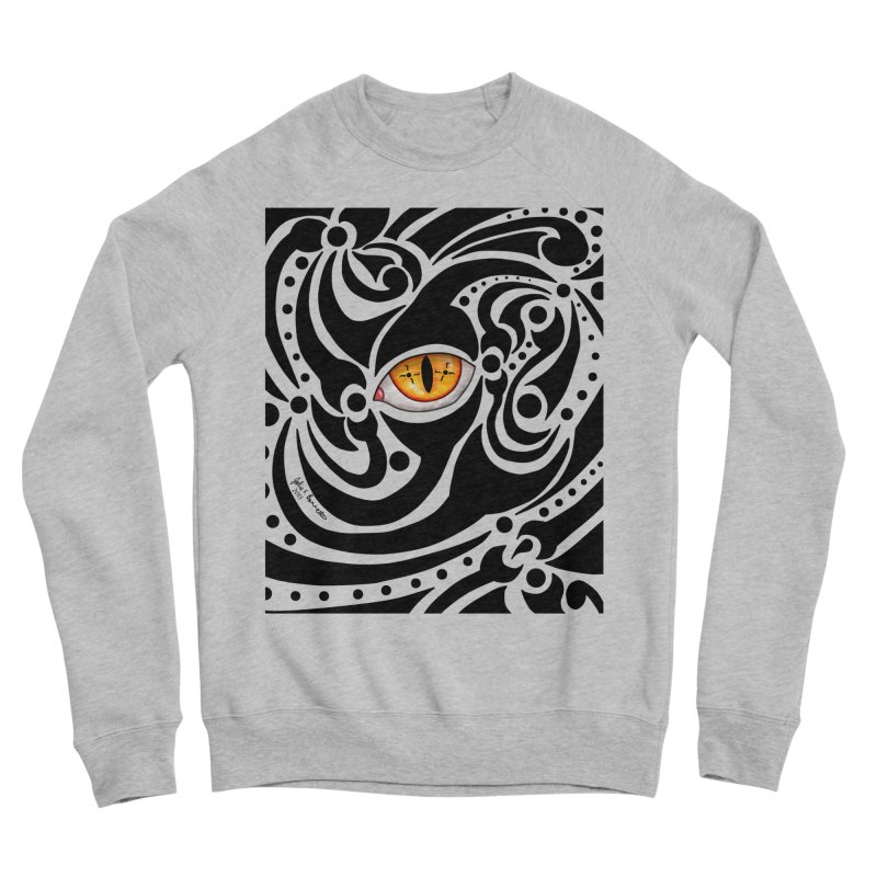 Drakkarhys Men's Sponge Fleece Sweatshirt by Magickal Vision: The Art of Jolie E. Bonnette