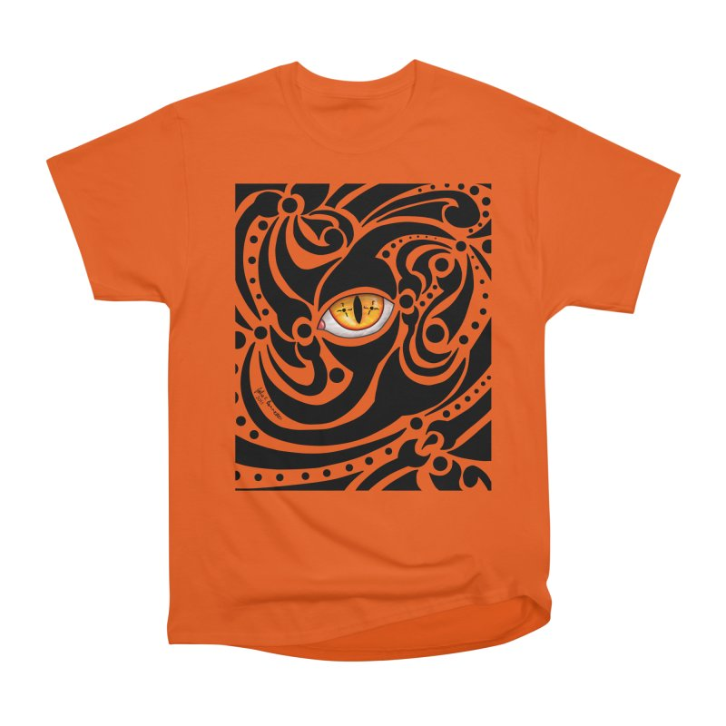 Drakkarhys Men's Heavyweight T-Shirt by Magickal Vision: The Art of Jolie E. Bonnette