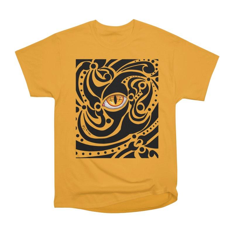 Drakkarhys Women's Heavyweight Unisex T-Shirt by Magickal Vision: The Art of Jolie E. Bonnette
