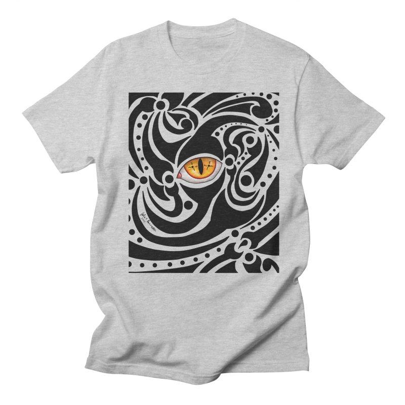 Drakkarhys Men's Regular T-Shirt by Magickal Vision: The Art of Jolie E. Bonnette