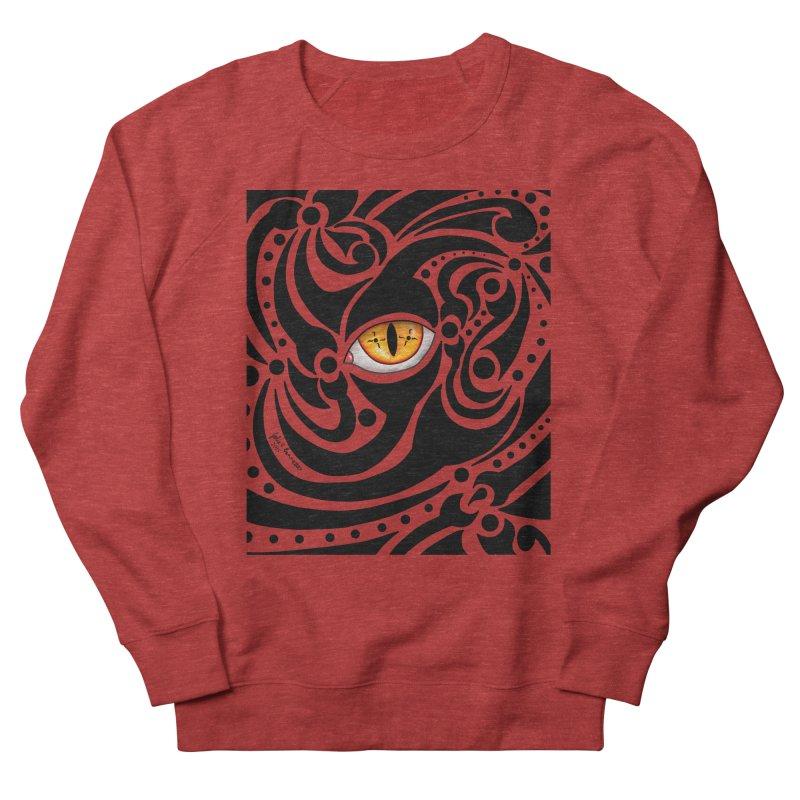 Drakkarhys Women's French Terry Sweatshirt by Magickal Vision: The Art of Jolie E. Bonnette