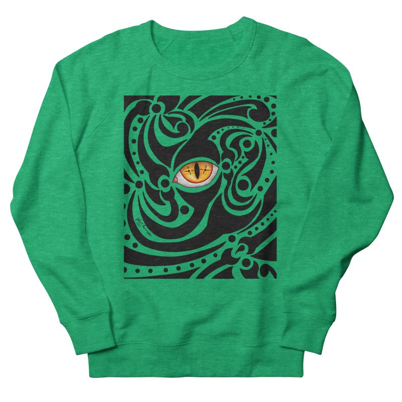 Drakkarhys Men's French Terry Sweatshirt by Magickal Vision: The Art of Jolie E. Bonnette