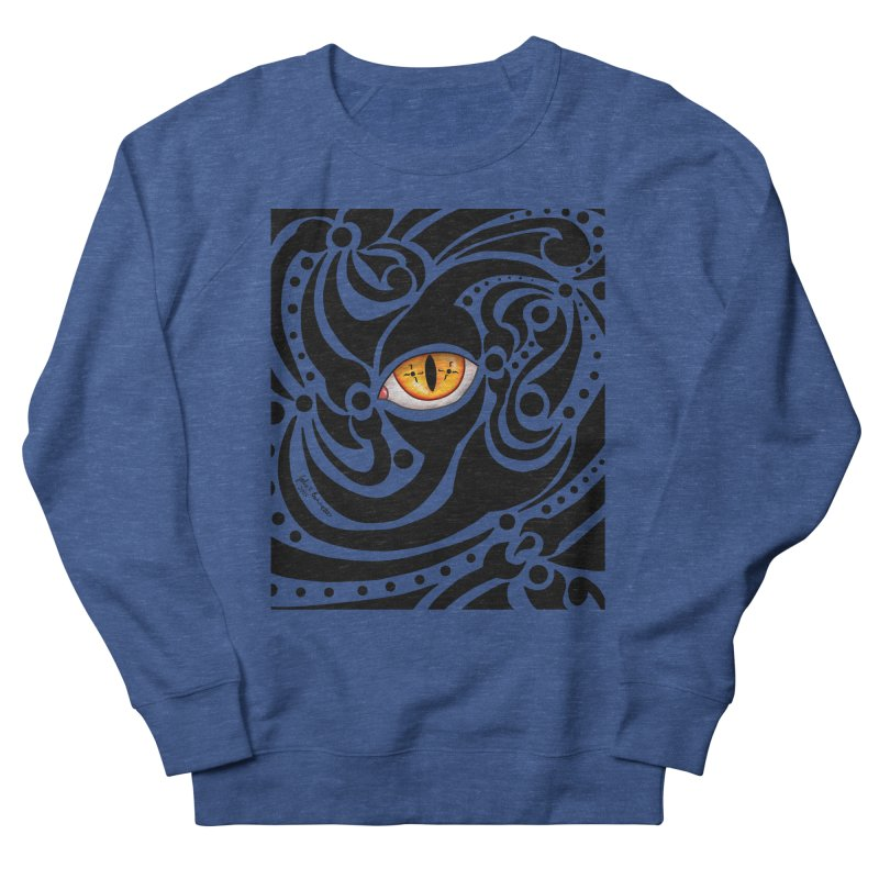 Drakkarhys Men's French Terry Sweatshirt by Magickal Vision: The Art of Jolie E. Bonnette