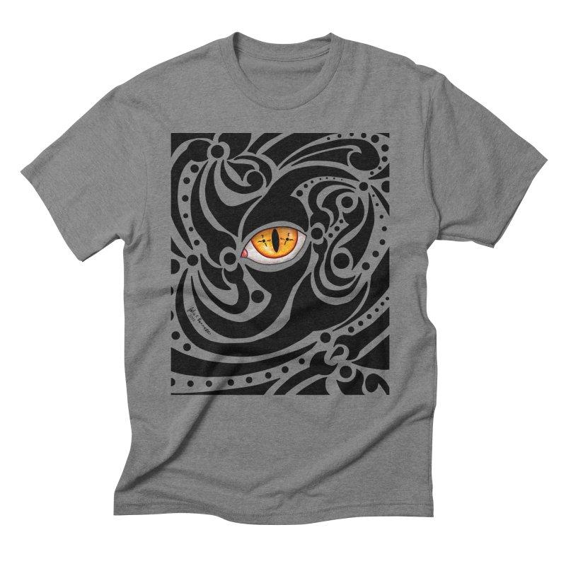 Drakkarhys Men's Triblend T-Shirt by Magickal Vision: The Art of Jolie E. Bonnette