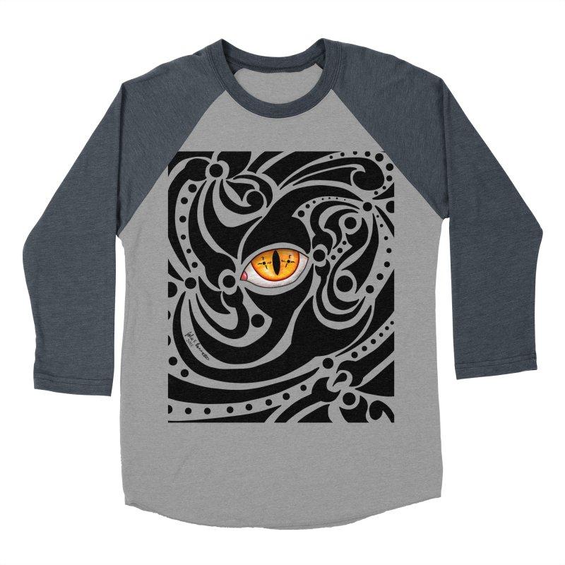 Drakkarhys Women's Baseball Triblend Longsleeve T-Shirt by Magickal Vision: The Art of Jolie E. Bonnette