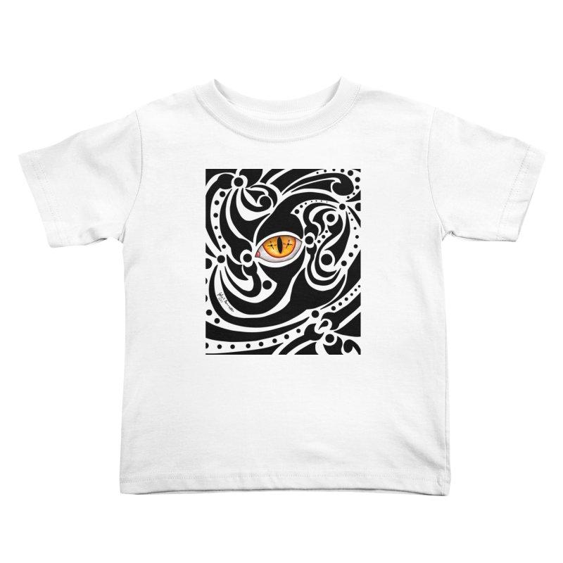 Drakkarhys Kids Toddler T-Shirt by Magickal Vision: The Art of Jolie E. Bonnette