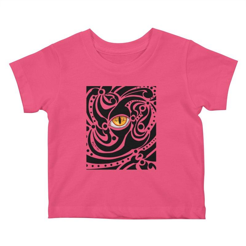 Drakkarhys Kids Baby T-Shirt by Magickal Vision: The Art of Jolie E. Bonnette