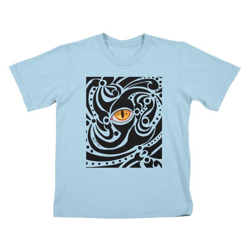 Drakkarhys Kids T-Shirt by Magickal Vision: The Art of Jolie E. Bonnette
