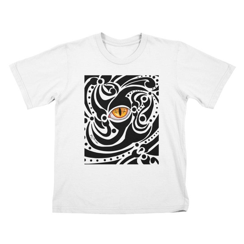 Drakkarhys Kids T-Shirt by Magickal Vision: The Art of Jolie E. Bonnette