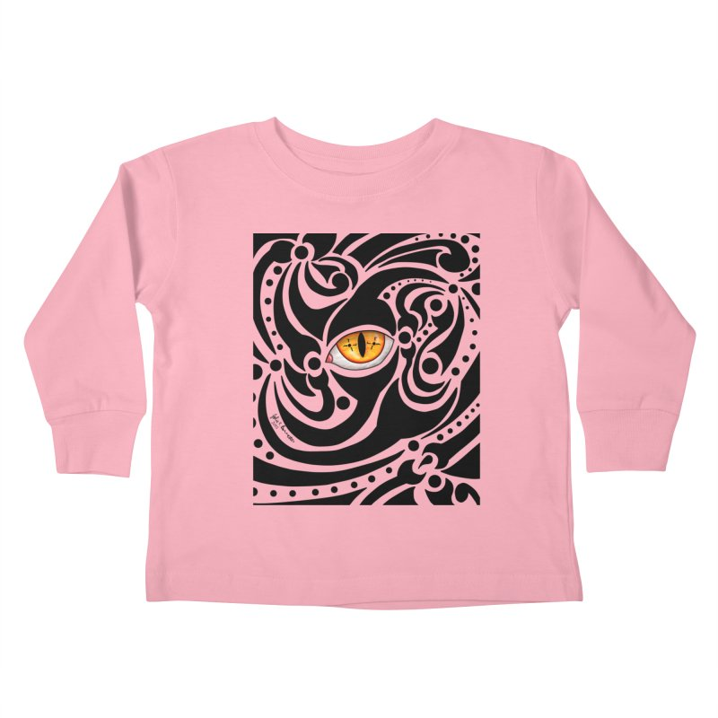 Drakkarhys Kids Toddler Longsleeve T-Shirt by Magickal Vision: The Art of Jolie E. Bonnette