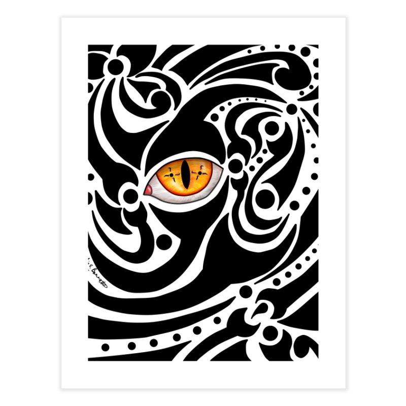 Drakkarhys Home Fine Art Print by Magickal Vision: The Art of Jolie E. Bonnette