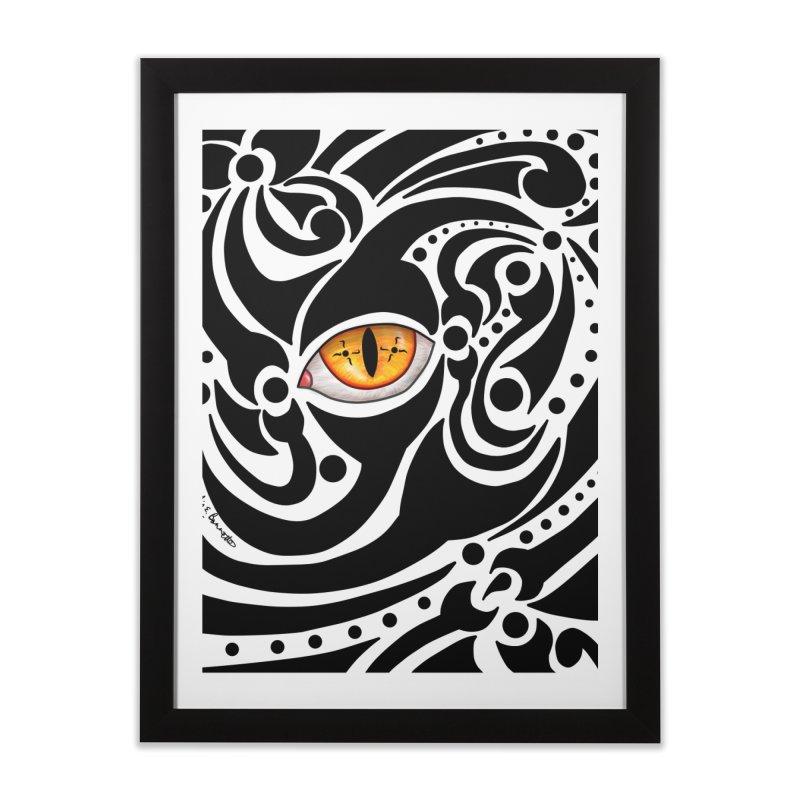 Drakkarhys Home Framed Fine Art Print by Magickal Vision: The Art of Jolie E. Bonnette