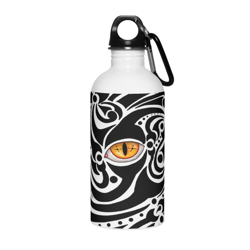 Drakkarhys Accessories Water Bottle by Magickal Vision: The Art of Jolie E. Bonnette
