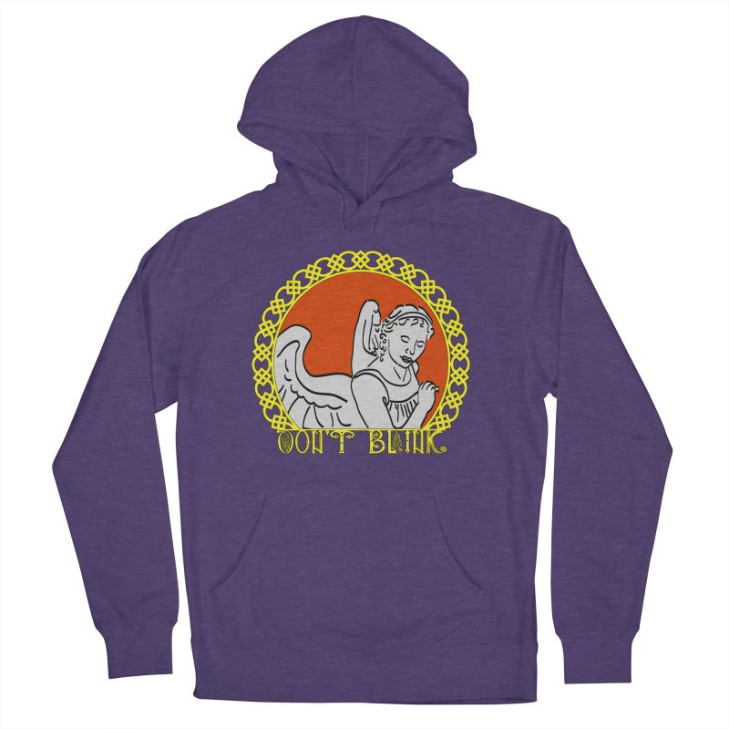 Angel Knot Women's French Terry Pullover Hoody by Magickal Vision: The Art of Jolie E. Bonnette