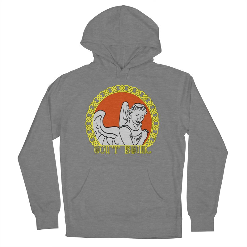 Angel Knot Men's French Terry Pullover Hoody by Magickal Vision: The Art of Jolie E. Bonnette