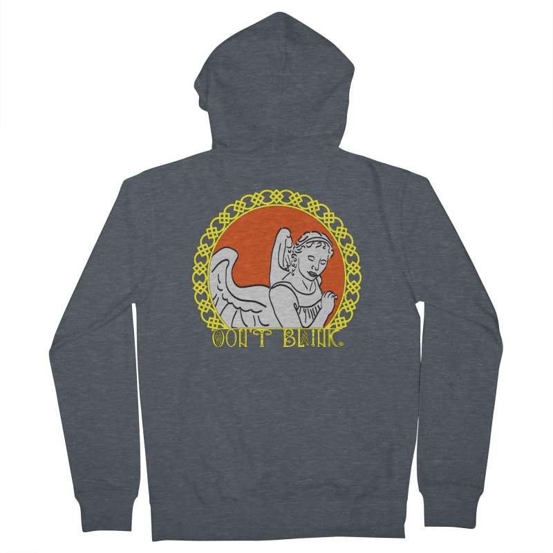 Angel Knot Women's French Terry Zip-Up Hoody by Magickal Vision: The Art of Jolie E. Bonnette