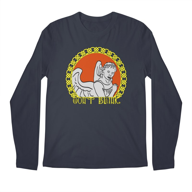 Angel Knot Men's Longsleeve T-Shirt by Magickal Vision: The Art of Jolie E. Bonnette