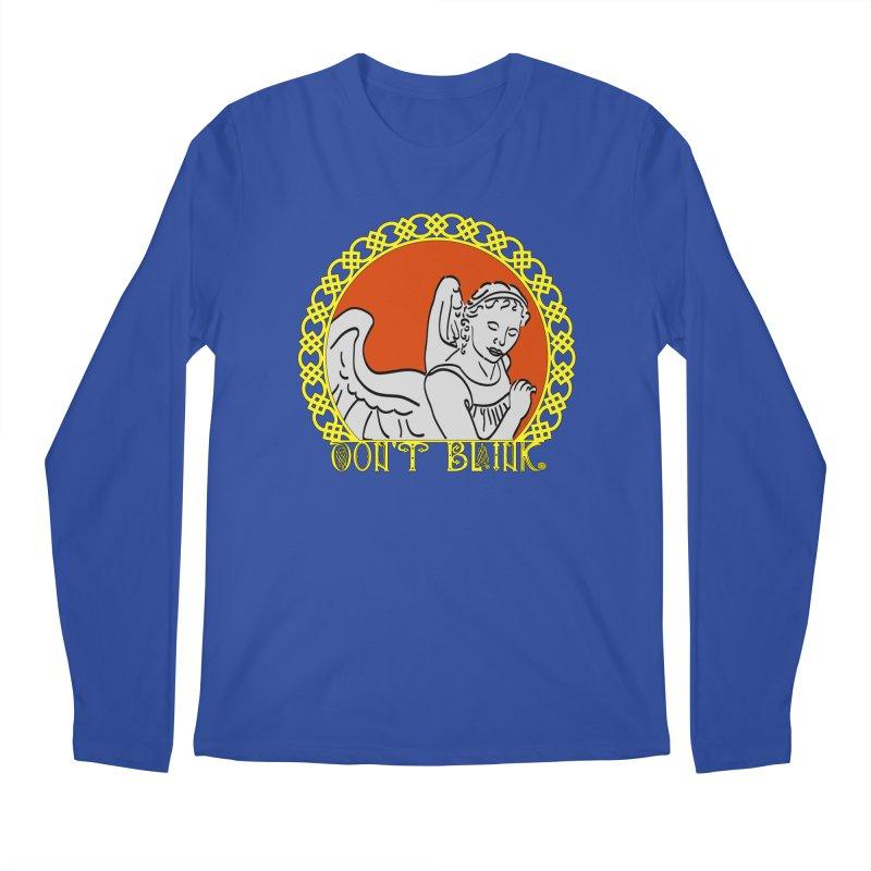 Angel Knot Men's Regular Longsleeve T-Shirt by Magickal Vision: The Art of Jolie E. Bonnette