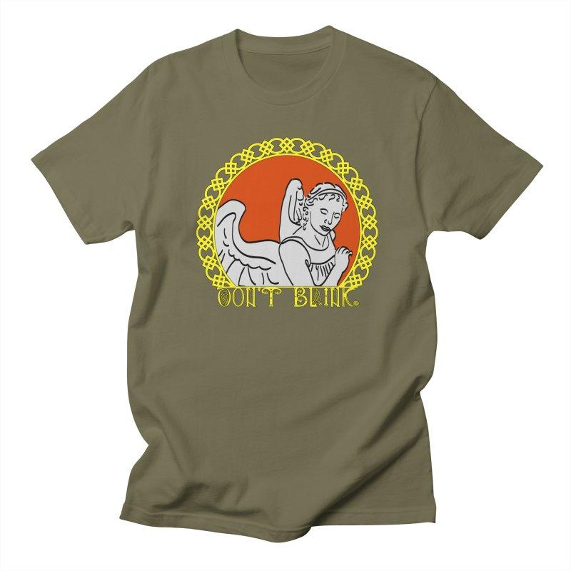 Angel Knot Men's Regular T-Shirt by Magickal Vision: The Art of Jolie E. Bonnette