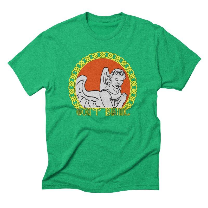 Angel Knot Men's Triblend T-shirt by Magickal Vision: The Art of Jolie E. Bonnette