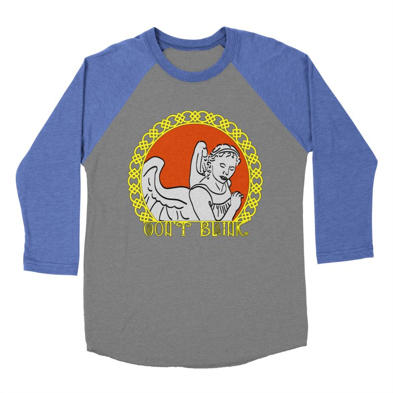 Angel Knot Women's Baseball Triblend T-Shirt by Magickal Vision: The Art of Jolie E. Bonnette
